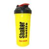 Шейкер Smart Shake 700 мл желто-черный - фото 1