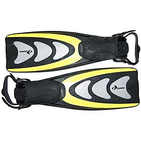 Фото 2 к товару Ласты с открытой пяткой Dorfin PL-433 желтые, размер - 42-45