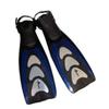 Ласты с открытой пяткой Dorfin PL-433 синие, размер - 42-45 - фото 1