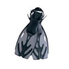 Ласты c открытой пяткой 27017 Bestway серые, размер - 39-45 - фото 1