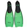 Ласты c закрытой пяткой USA Style SS-F-811 зеленые, размер - 42-44 - фото 1