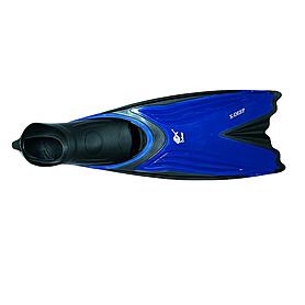 Ласты с закрытой пяткой Dolvor Deep F366 синие, размер - 43-45