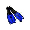 Ласты с закрытой пяткой Dorfin (ZLT) синие, размер - 40-41 ZP-436-BL-L - фото 1