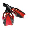 Ласты с закрытой пяткой Dolvor F727 красные, размер - 44-45 - фото 1