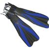 Ласты с открытой пяткой Dolvor F30 синие, размер - 43-45 - фото 1