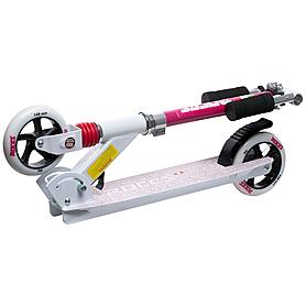 Фото 2 к товару Самокат Roces scooter бело-розовый