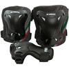Защита для катания (комплект) Roces 3-pack protective set черная, размер S - фото 1