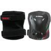 Защита для катания (комплект) Roces 3-pack protective set черная, размер S - фото 3