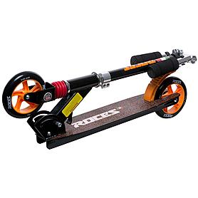 Фото 2 к товару Самокат Roces scooter черно-оранжевый