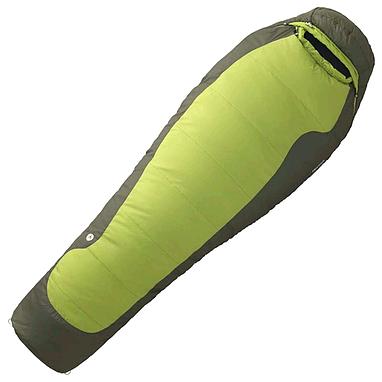 Мешок спальный (спальник) Marmot Trestles 30 long правый зеленый
