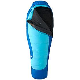 Фото 2 к товару Мешок спальный (спальник) Marmot Trestles 15 women's regular правый синий