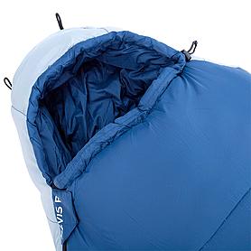 Фото 2 к товару Мешок спальный (спальник) Red Point Nevis R левый синий
