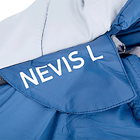 Фото 4 к товару Мешок спальный (спальник) Red Point Nevis R левый синий