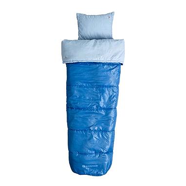 Мешок спальный (спальник) Caribee Cloud 9 Kids sky blue левый