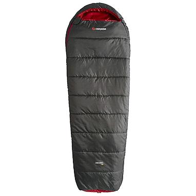 Мешок спальный (спальник) Caribee Nordic Compact 1000 graphite/red левый