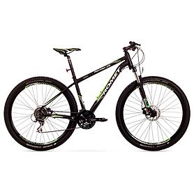 """Велосипед горный Romet Rambler 2.0 29"""" 2015 черный с зеленым - рама 19"""""""