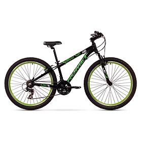 """Велосипед детский Romet Rambler Dirt Kids 26"""" 2015 черный с зеленым - рама 14"""""""