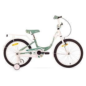 "Велосипед детский Romet Diana 20"" 2015 белый с синим - рама 10"""