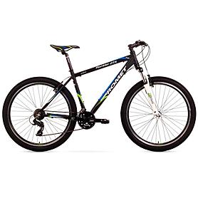 """Велосипед горный Romet Rambler 1.0 27,5"""" 2015 черный с синим и зеленым - рама 17"""""""