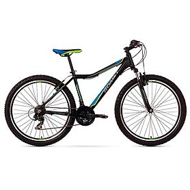 """Велосипед горный Romet Rambler JR 26"""" 2015 черный с синим - рама 17"""""""