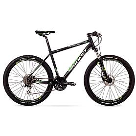 """Велосипед горный Romet Rambler 2.0 27,5"""" 2015 черный с зеленым - рама 17"""""""