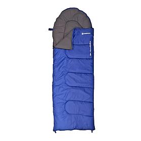 Фото 1 к товару Мешок спальный (спальник) Nordway Toronto темно-синий правый N22220L-R