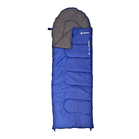 Фото 1 к товару Мешок спальный (спальник) Nordway Toronto темно-синий правый N22220M-R