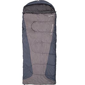 Фото 1 к товару Мешок спальный (спальник) Nordway Montreal серый правый N2225XL-R