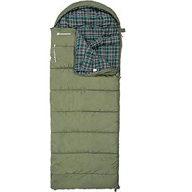 Фото 2 к товару Мешок спальный (спальник) Nordway Yukon зеленый левый N2226L-L