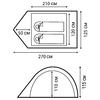 Палатка двухместная Nordway Orion 2 - фото 3