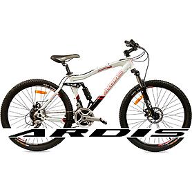 """Велосипед горный Ardis Corsair 26"""" бело-черный рама - 17"""""""