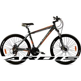 """Велосипед горный Ardis Vinsent 26"""" серо-оранжевый рама 17,5"""""""
