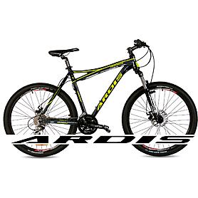"""Велосипед горный Ardis Dinamic 26"""" черно-желтый матовый рама - 19,5"""""""
