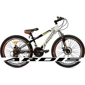 """Велосипед подростковый горный Ardis Rocks 24"""" бело-зеленый рама - 12"""""""