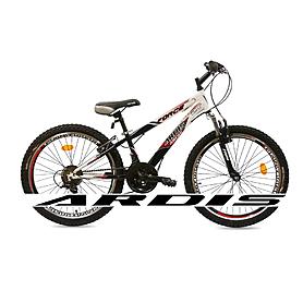 """Велосипед горный подростковый Ardis Forse 24"""" черно-красный рама - 12"""""""