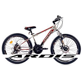 """Велосипед горный подростковый Ardis Racer 24"""" бело-красный рама - 13"""""""