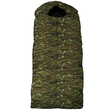 Мешок спальный (спальник) Mountain Outdoor камуфляжный широкий + подарок
