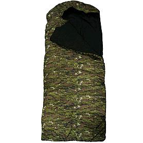 Фото 3 к товару Мешок спальный (спальник) Mountain Outdoor камуфляжный широкий + подарок