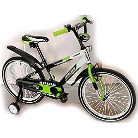 """Велосипед детский Ardis Fitness BMX 20"""" черно-бело-зеленый"""