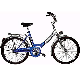 """Велосипед городской Ardis Fold CK 24"""" синий с освещением, рама - 17"""""""