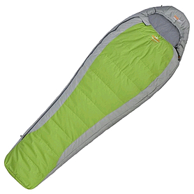 Мешок спальный (спальник) левый Pinguin Micra 185 зеленый