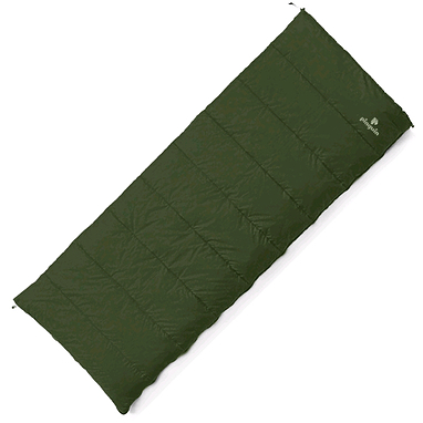 Мешок спальный (спальник) Pinguin Travel 190 зеленый