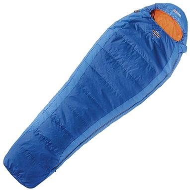 Мешок спальный (спальник) левый Pinguin Micra 185 синий