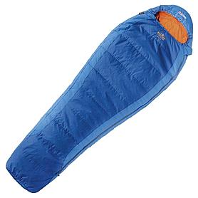 Фото 1 к товару Мешок спальный (спальник) правый Pinguin Micra 195 синий