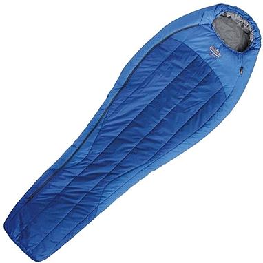 Мешок спальный (спальник) левый Pinguin Spirit 185 синий