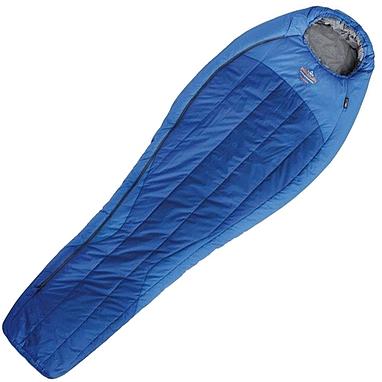 Мешок спальный (спальник) левый Pinguin Spirit 195 синий