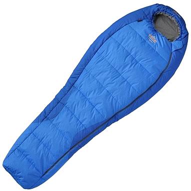 Мешок спальный (спальник) левый Pinguin Topas 185 синий