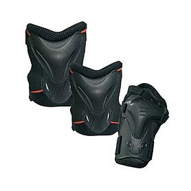 Фото 1 к товару Защита для катания на роликах (комплект) Tempish Jolly черная, размер - L