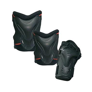 Защита для катания на роликах (комплект) Tempish Jolly черная, размер - M