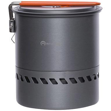 Котелок с крышкой с радиатором Outventure 1,5 л